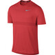Nike Zonal Cooling Relay Running Top SS Men track red